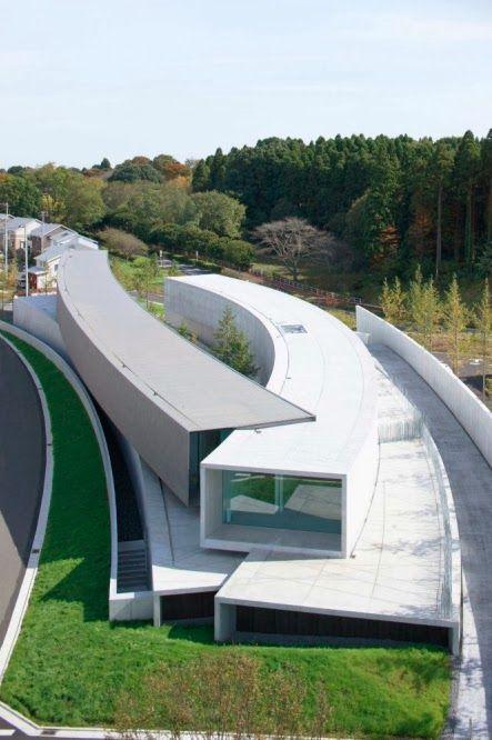 Zona-Arquitectura: Museo Hoki_Chiba_Japón #Arquitectura