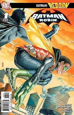 Batman & Robin #1  By the genius : Grant Morrison