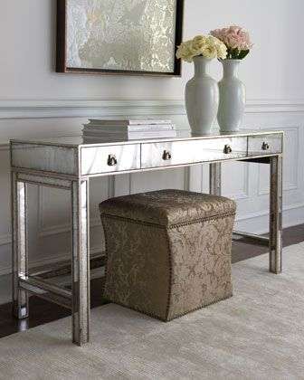 """""""Marissa"""" Mirrored Console by John-Richard Collection at Horchow."""