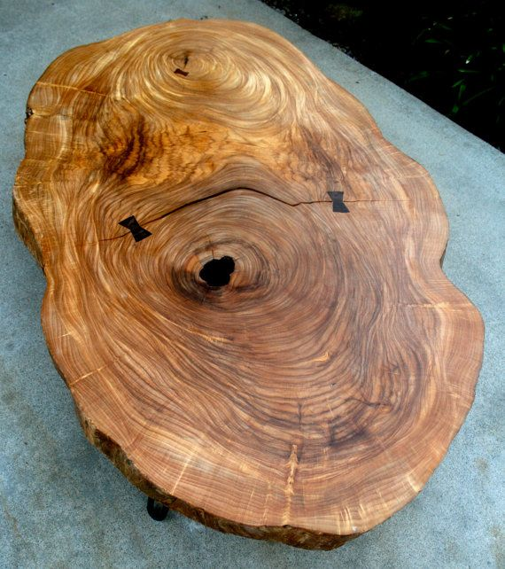 Mid century Natural Live edge exotic tropical by TheTimberLibrary, $2850.00 SOLD