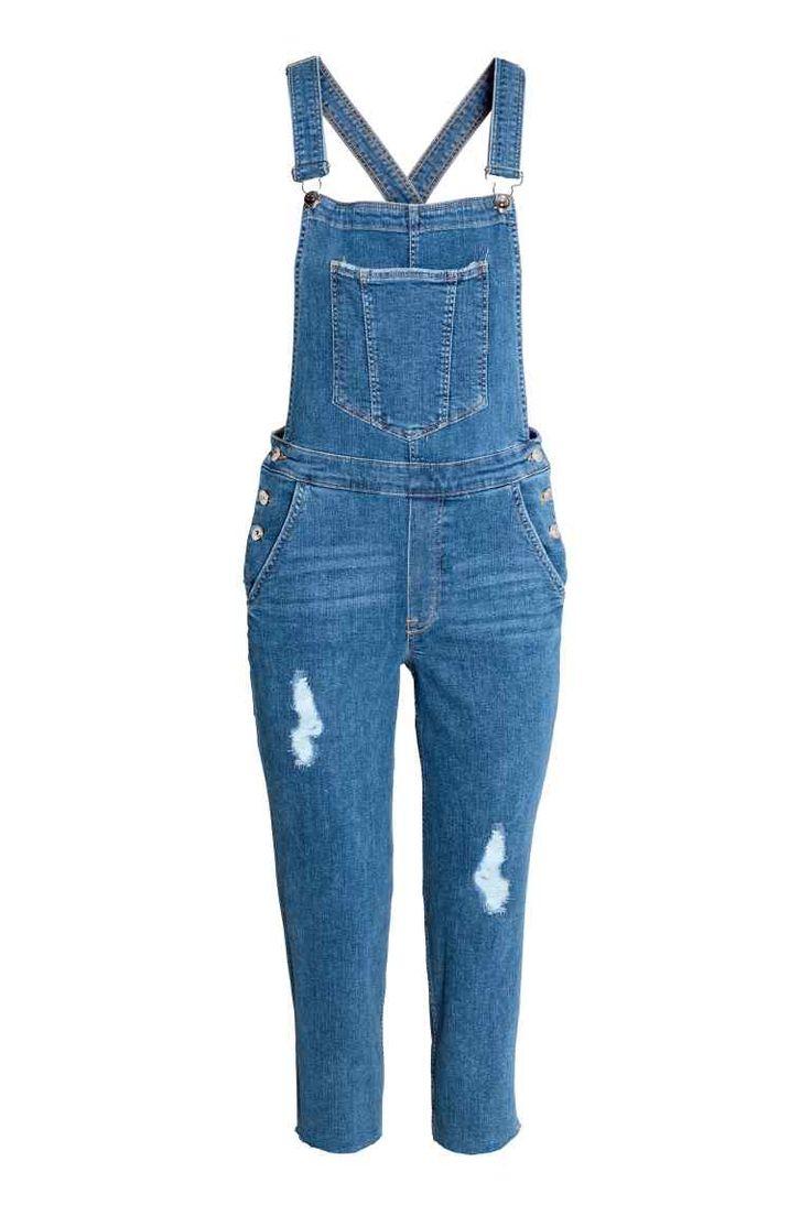 Jardineiras em ganga (azul):  H&M (39,99€)
