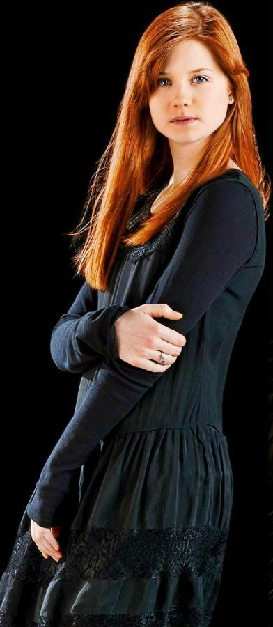 Ginny Weasley, I've always imagined her like this but I loved her better in the book because she was tougher and funnier because of her brothers.