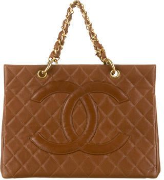 Chanel Vintage Shopping Tote