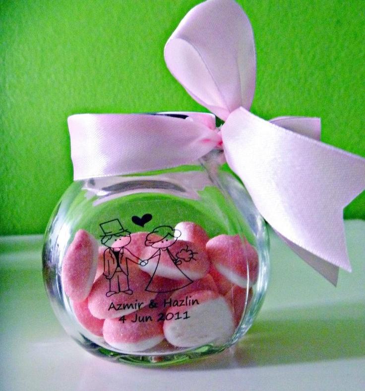 Glass Jar for door gift                                                                                                                                                      More