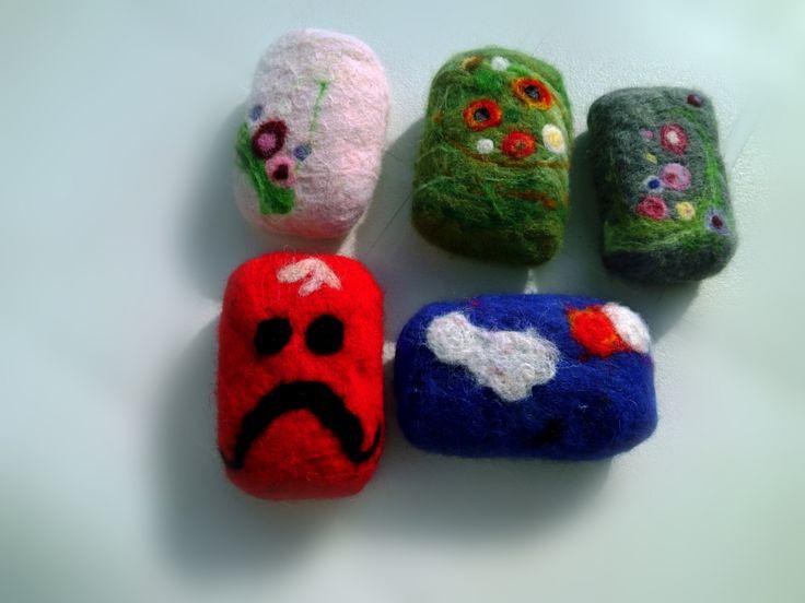 jabon de eco esponja de lana 100% de Regalosuerte en Etsy