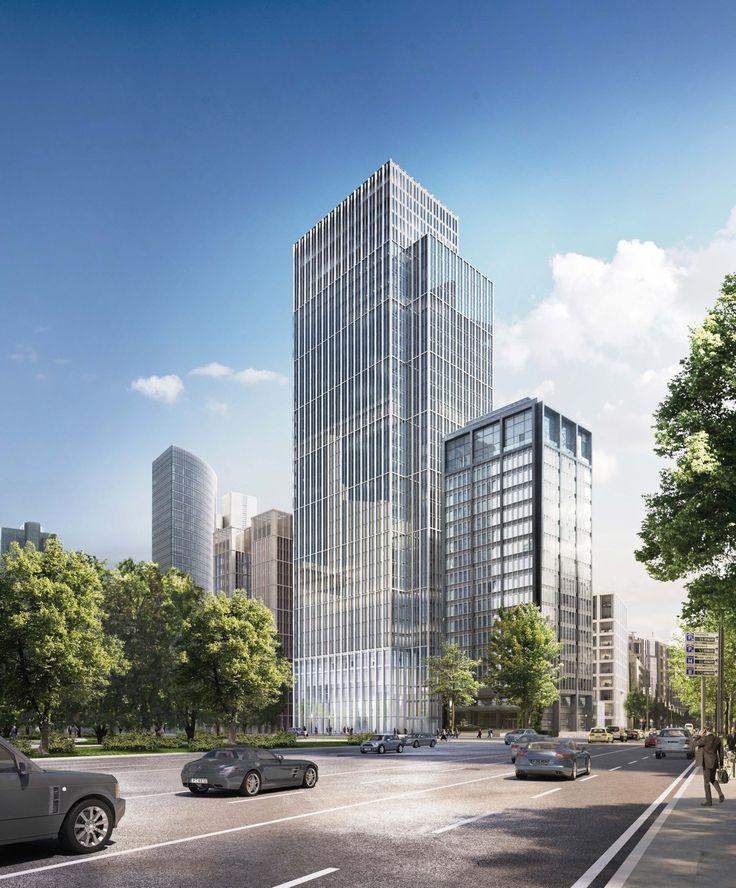 Hochhaus von Müller Reimann in Frankfurt / Ein Turm wird wahr - Architektur und Architekten - News / Meldungen / Nachrichten - BauNetz.de