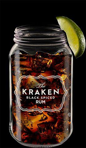Kraken Cocktails - Lots of cocktails using Kraken Rum - steampunk drinks!
