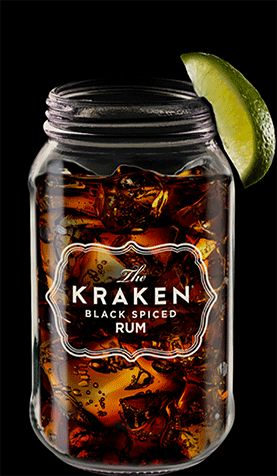 Kraken Cocktails - Lots of cocktails using Kraken Rum - steampunk drinks!