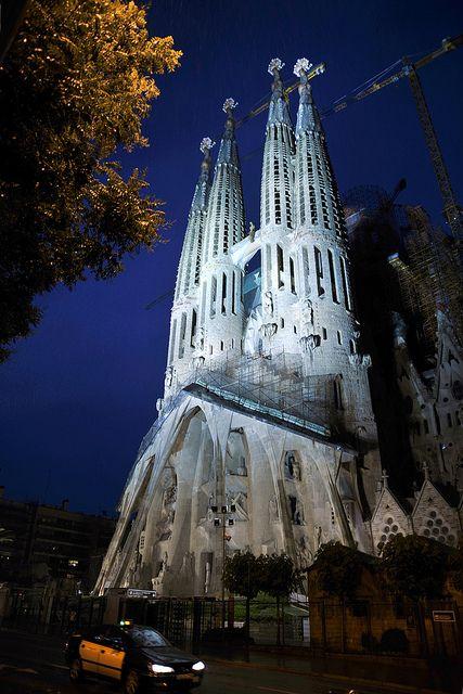 Sagrada Família, Barcelona, Catalonia