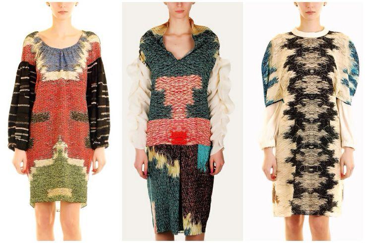 Silk dresses by Adrian Oianu