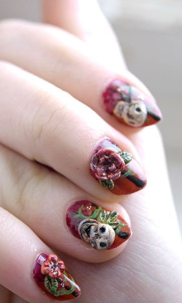 78 Best Images About Latest Nail Art Designs 2015 On