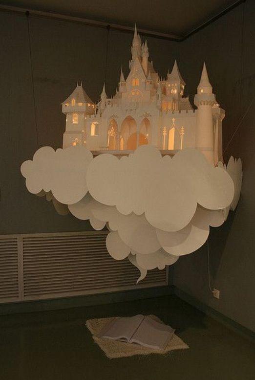 Fairytale paper decoration