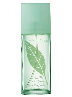 Green Tea Elizabeth Arden for women- Top notes are rhubarb, mint, orange peel, bergamot and lemon; middle notes are carnation, musk, jasmine, oakmoss, white amber and fennel; base notes are caraway, amber, musk, green tea, jasmine, cloves, oakmoss and celery seeds.