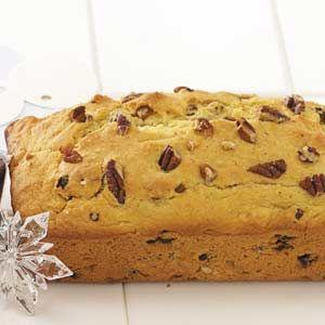 Christmas Eggnog Bread Recipe