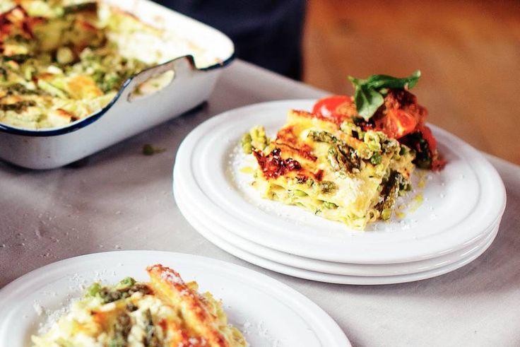 Lasagne met zomergroenten - Recept - Allerhande