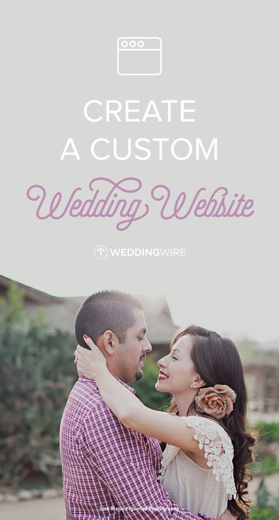 Create a wedding website to share big day details with family & friends! Sign up for access to a budget, checklist & other free planning tools.