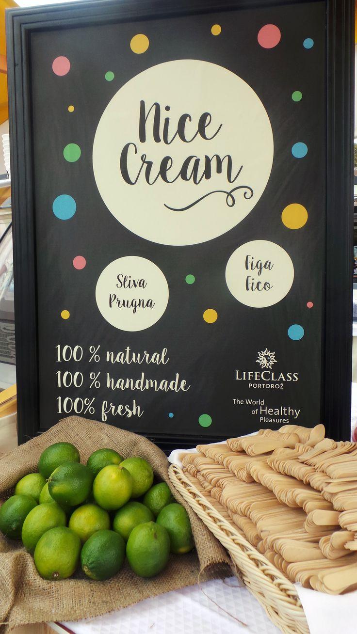 Nice Cream from the World of Healthy Pleasures. #nicecream #healthypleasures #prehistoricsee #lifeclassportoroz