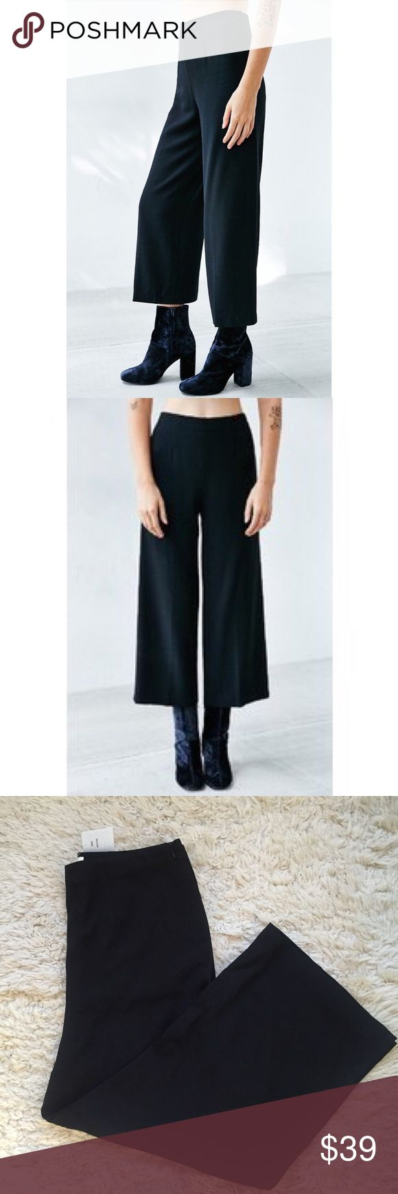 Urban Outfitters Anabel Trouser New with tags black high waisted trouser with side zip Urban Outfitters Pants Trousers