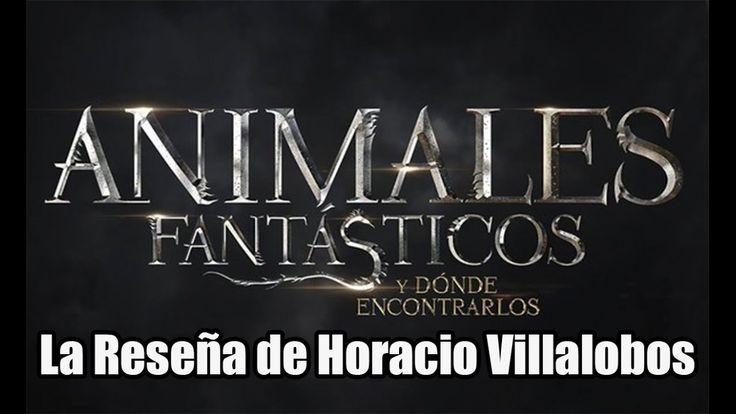 Animales Fantásticos y dónde Encontrarlos la Reseña de Horacio Villalobos
