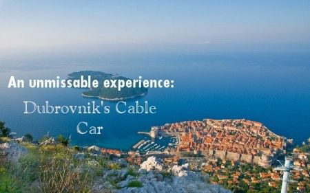 If you're thinking about visiting Dubrovnik next  year, one of the must do activities is the city's Cable Car, offering dramatic views of the stunning coastline from the top of Mount Srd.