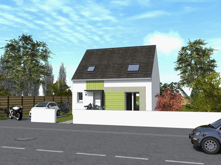 Plan maison 72m2, 3 chambres gratuit  plan n°138 CGIE Plan de - faire plan de maison gratuit