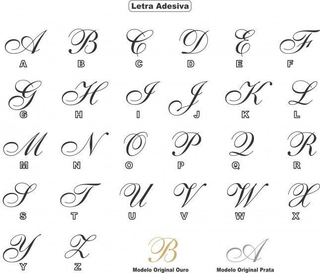 25+ melhores ideias de Fontes bonitas de alfabeto no