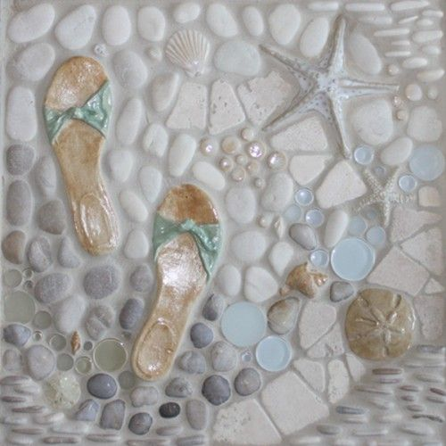 Walk on the Beach tile. Love it!