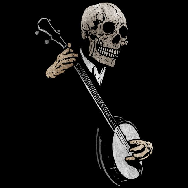The Banjo Blues is a T Shirt designed by matthewdunnart to illustrate your life and is available at Design By Humans