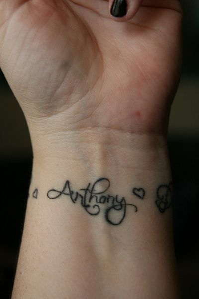 tattoo designs with kids names for women | nowadays kid name tattoo designs have become popular among tattoo ...