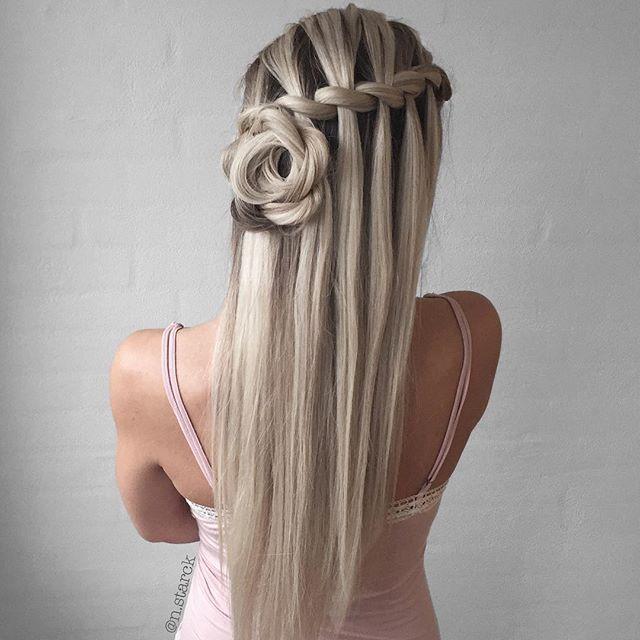 Beautiful braids #braids #rosebraids