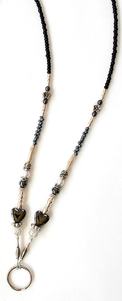 Handcrafted Beaded Lanyards, beaded badge holders, id badge holders and custom lanyards