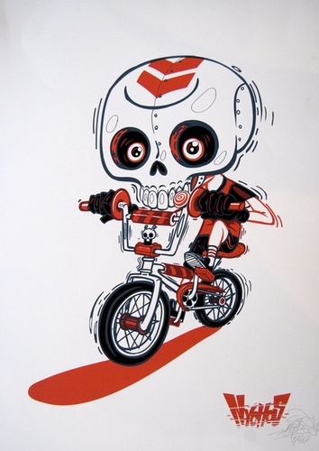 Skullz and BMX by Nychos