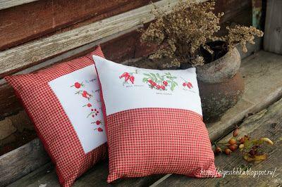 У Евгешшшки: Осенние подушки