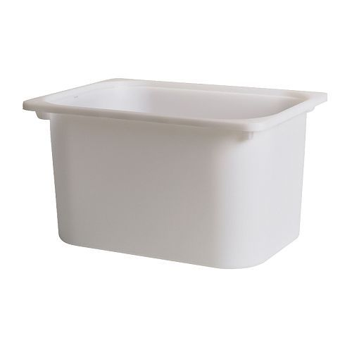 Ikea TROFAST Storage box - Can be stacked when completed with a lid.