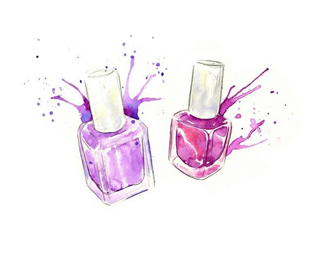 Bottle of nail polish for nail competition in Blackpool
