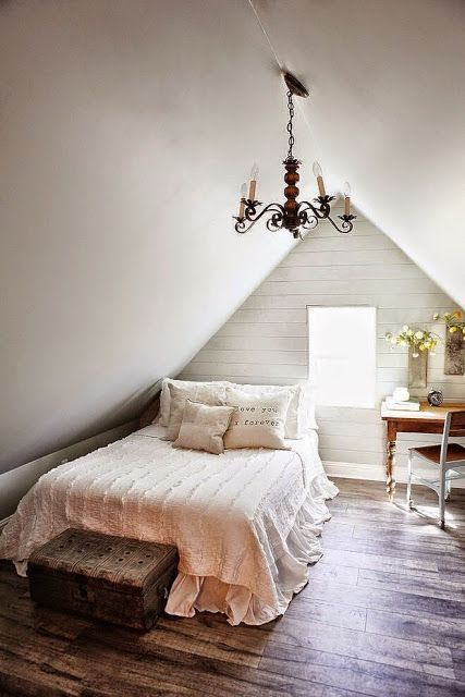 The Farm House | Decorar tu casa es facilisimo.com @kimhardesty if we buy tiffs house lol and I take the attic bedroom