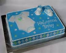 Baby Shower Sheet Cakes For Boys - Bing Images