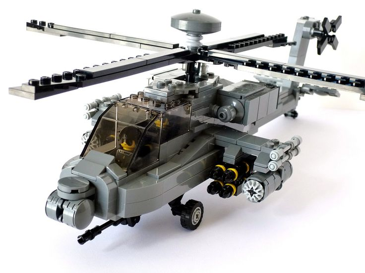 AH-64D Apache Longbow | by BrickMonkey