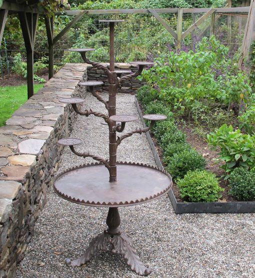 Cast Iron Antique Plant Stand 1900 Elements Planters In 2019 Plants Wood