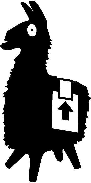 Fortnite Llama Car Truck Laptop Vinyl Decal Sticker Many Colors Availabl