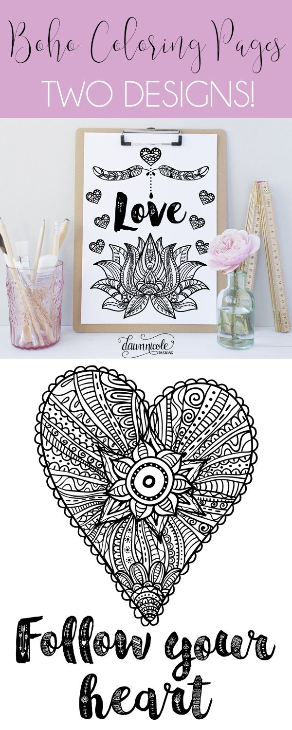 Swear word coloring book sarah bigwood - Boho Coloring Pages