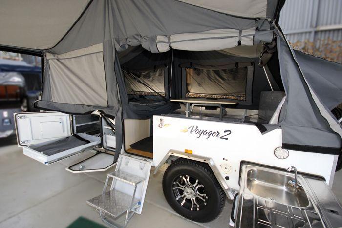 Voyager 2 Hard Floor Camper Trailer