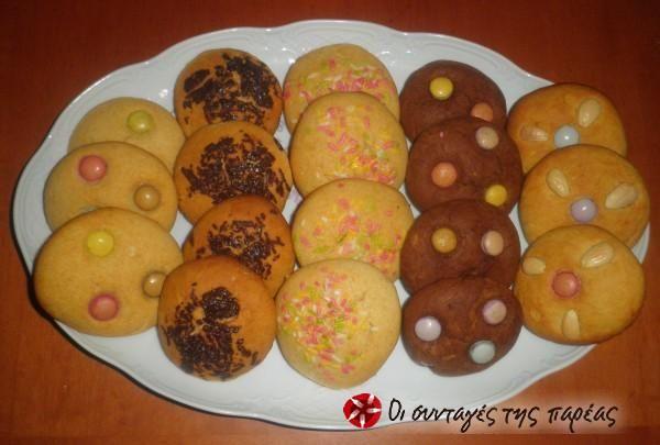 Μπισκότα+με+ζαχαρούχο+γάλα+#sintagespareas