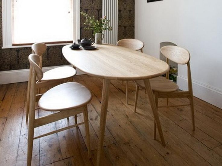 Rose And Grey Retro Style With 1950s Dining Table