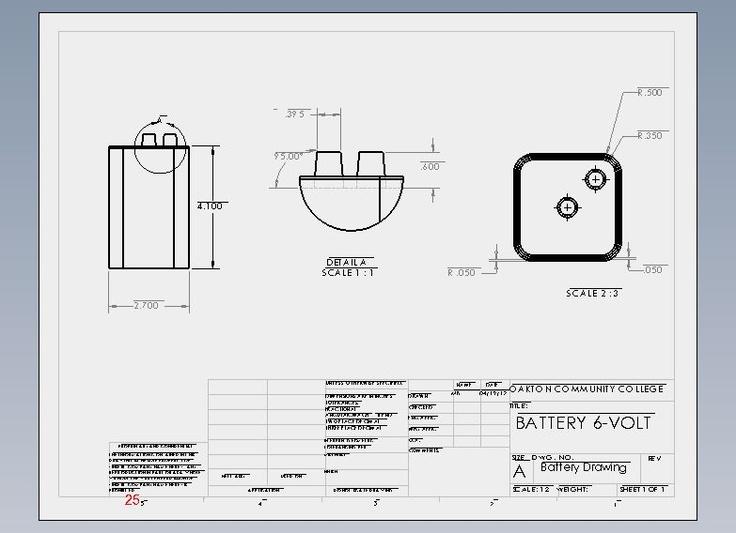 Flashlight Assembly Battery