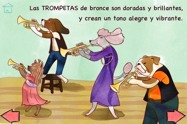 Las Trompetas!