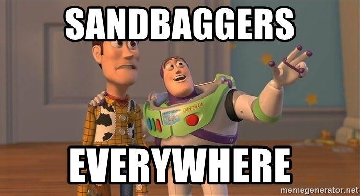 Sandbaggers Everywhere Original Toy Story Memes Pictures Online Education Humor