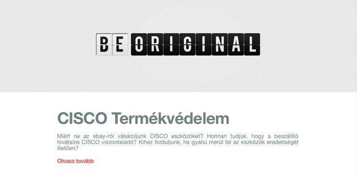 A CISCO Brand Protection csapatának magyar nyelvű dokumentumából megtudhatjuk, hogy mit tehetünk annak érdekében, hogy biztosan eredeti, vadonatúj, az ügyfél nevére regisztrált, CISCO garanciára és támogatásra jogosító és érvényes licensszel rendelkező CISCO terméket vásároljunk. #cloudcondition