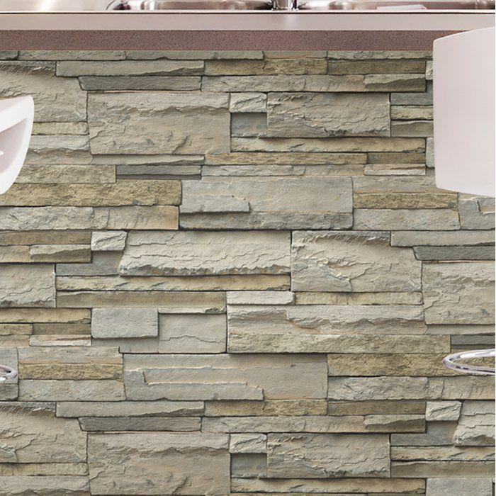 Concord Slate 18 L X 20 5 W Peel And Stick Wallpaper Wallpaper Roll Peel And Stick Wallpaper Wood Wallpaper