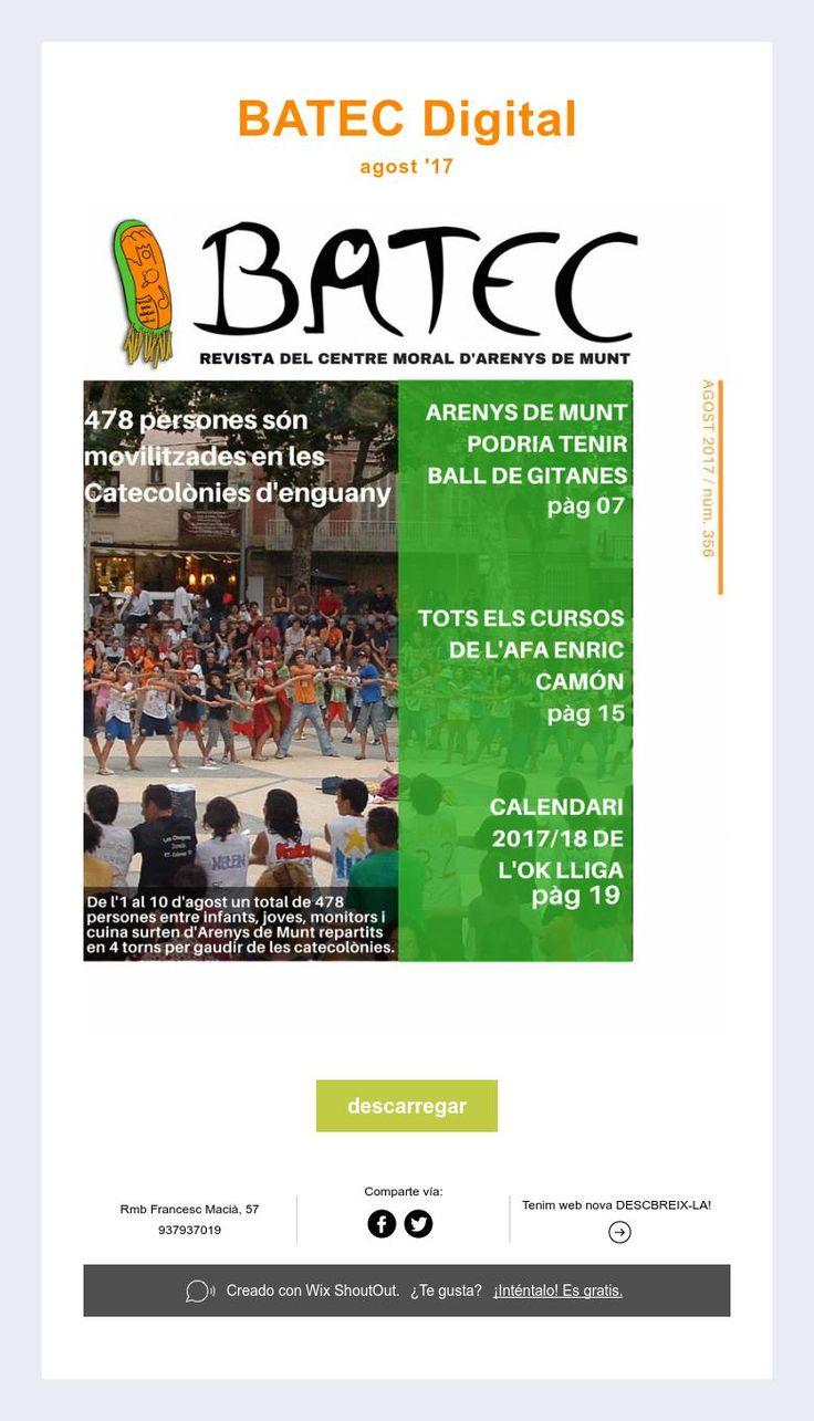 BATEC Digital  agost '17